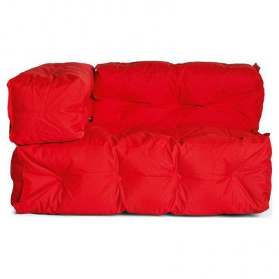 Sitting Bull Couch Armleuning Links - Rood