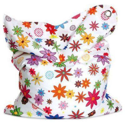 Sitting Bull Kinder Zitzak Fashion Mini Bull - Flower girl