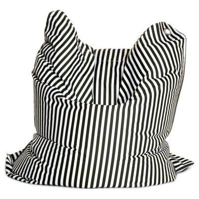 Sitting Bull Zitzak Fashion Bull - Black & White