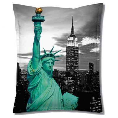 Sitting Bull Zitzak Super Bag Motiv - New York
