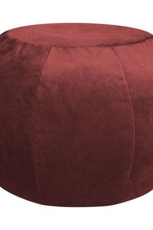 Sitting Point Poef Plump Veluto - Marsala
