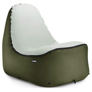 Trono Inflatable Zitzak - Diep Groen