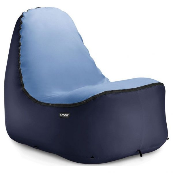Trono Inflatable Zitzak - Donkerblauw