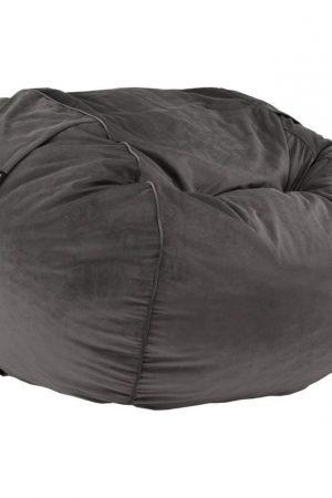 Vetsak FS1000 (Large) Velvet zitzak - donkergrijs