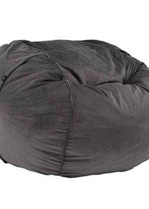 Vetsak Zitzak Beanbag Large Velvet dark grey