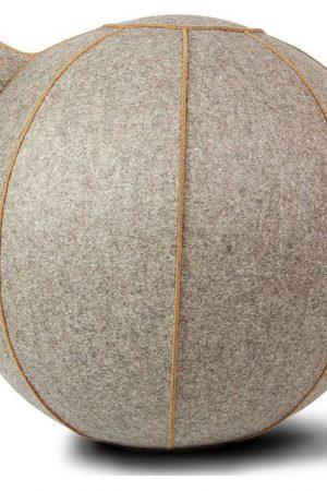 Vluv VELT zitbal Greige-Melange/Bruin 65cm