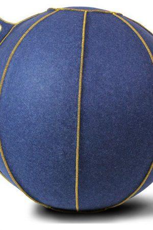 Vluv VELT zitbal Jeans - Melange/Goud 75cm