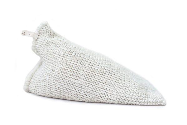 Zilalila Handgebreide Design Kinder Zitzak Nest - White