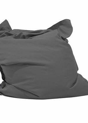 Beliani Bean Bag Big Zitzak Grijs