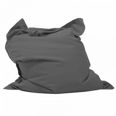 Beliani Bean Bag Big Zitzak Grijs