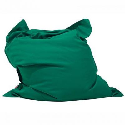 Beliani Bean Bag Big Zitzak Groen