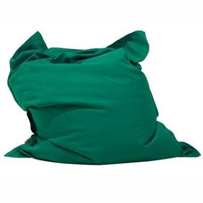Beliani Bean Bag Big Zitzak Groen