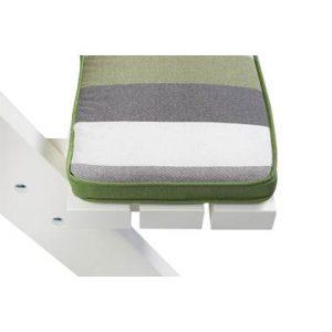 MaximaVida picknicktafel en biertafel kussenpakket Khaki 55 x 27