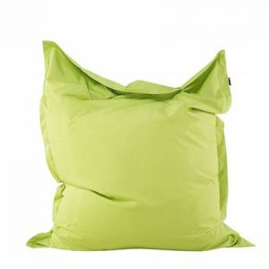 Beliani Bean bag Big Zitzak Groen Polyester