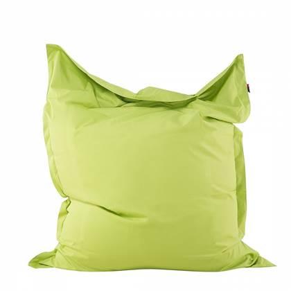 Beliani Bean bag Big Zitzak Groen Polyester