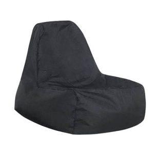Beliani SIESTA Zitzak Zwart Polyester