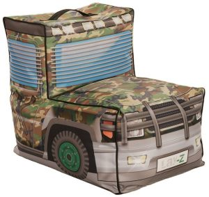 Lay-Z Kinder Zitzak Kids Army Jeep Combi