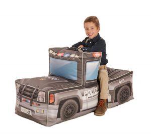 Lay-Z Kinder Zitzak Kids Politiewagen Combi