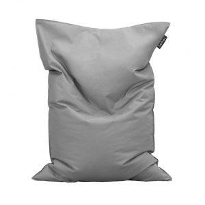 Lebel loungekussen - grijs - 100x150 cm - Leen Bakker