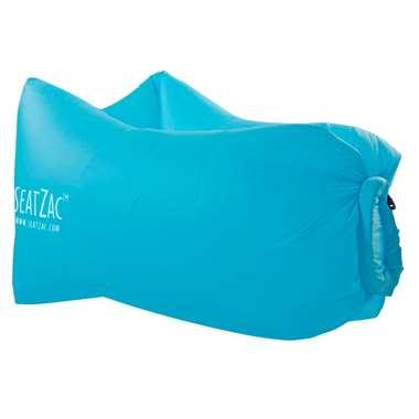 SeatZac zitzak - sky blue - 34x19x13 cm - Leen Bakker