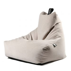 Extreme Lounging B-Bag Mighty-B Indoor Zitzak Suede - Stone