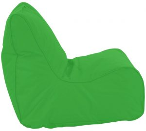 Puffi Kinder Zitzak Stoel Lounge Chair - Lime