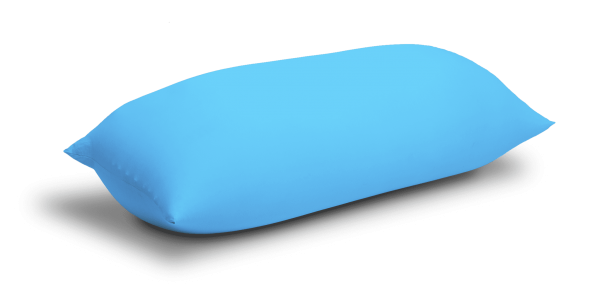 Terapy - Baloo Zitzak - Turquoise - 180cm x 80cm x 50cm - Katoen