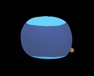 Terapy - Stanley Zitzak - Blauw / Turquoise - 70cm x 70cm x 60cm - Katoen