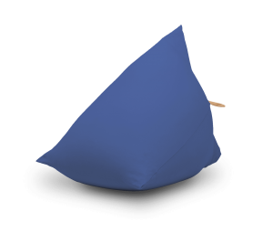 Terapy - Sydney Zitzak - Blauw - 60cm x 60cm x 60cm - Katoen