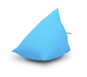 Terapy - Sydney Zitzak - Turquoise - 60cm x 60cm x 60cm - Katoen
