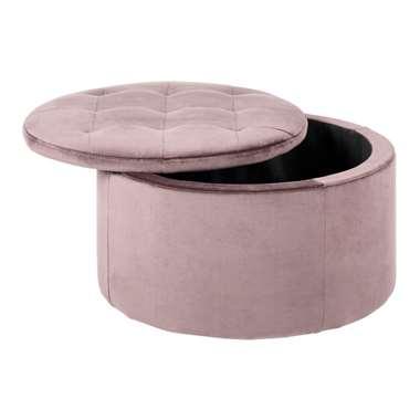 Poef Debussy - roze - 35x60 cm - Leen Bakker