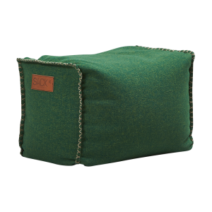 RETROit Cobana Square Puff - Green