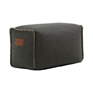 RETROit Cobana Square Puff - Grey
