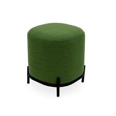Tenzo poef Harry - groen - 46x42x42 cm - Leen Bakker
