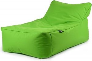 B-Bed lounger Lime incl. bolster kussen Extreme Lounging