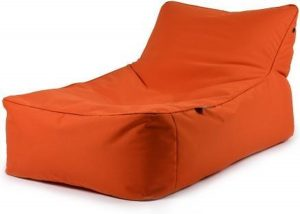B-Bed lounger Oranje incl. bolster kussen Extreme Lounging