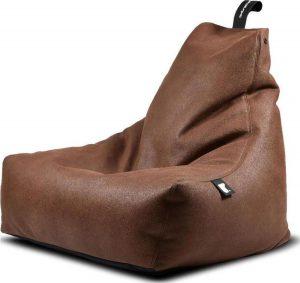 Extreme Lounging b-bag mighty-b Indoor Lederlook Chestnut