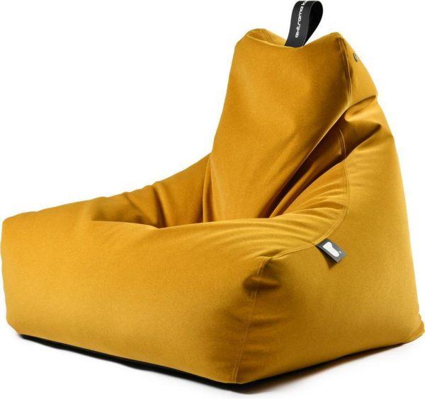 Extreme Lounging b-bag mighty-b Indoor Suede Mustard Zitzak