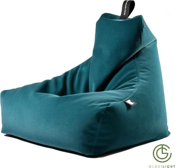 Extreme Lounging b-bag mighty-b Indoor Suede-Teal blue