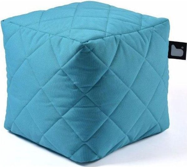 Extreme Lounging b-box Outdoor Quilted Aquablauw