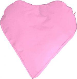 Whoober Hartvorm Zitzak Paris XL outdoor roze - Wasbaar