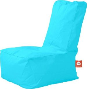 Whoober Kinder-zitzak Fiji outdoor aqua blauw - Wasbaar - Geschikt voor buiten