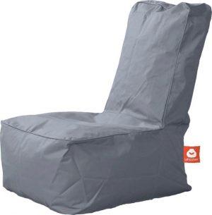 Whoober Kinder-zitzak Fiji outdoor grijs - Wasbaar - Geschikt voor buiten