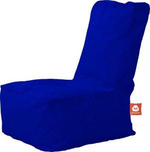 Whoober Kinder-zitzak Fiji outdoor kobalt blauw - Wasbaar - Geschikt voor buiten