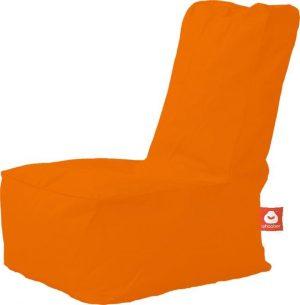 Whoober Kinder-zitzak Fiji outdoor oranje - Wasbaar - Geschikt voor buiten