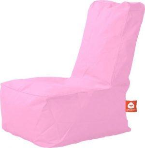Whoober Kinder-zitzak Fiji outdoor roze - Wasbaar - Geschikt voor buiten