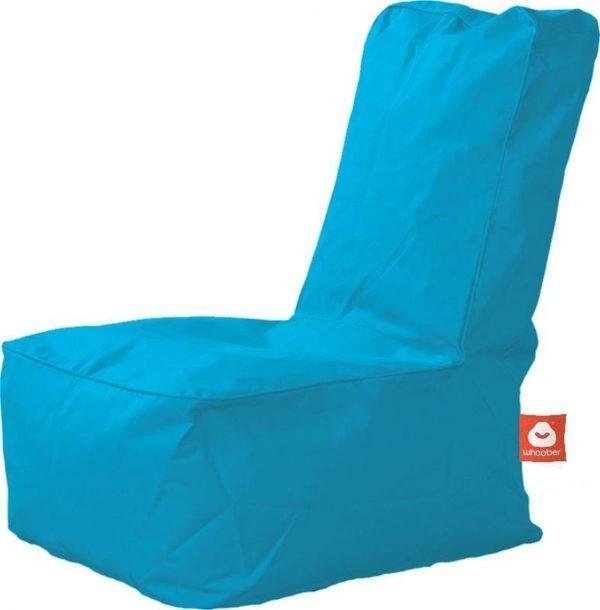 Whoober Kinder-zitzak Fiji outdoor turquoise - Wasbaar - Geschikt voor buiten