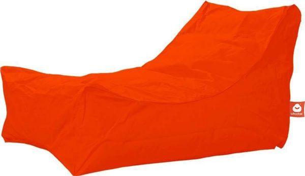 Whoober Lounge stoel zitzak Bali outdoor donker oranje - Wasbaar - Geschikt voor buiten