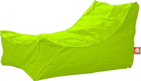 Whoober Lounge stoel zitzak Bali outdoor limoen groen - Wasbaar - Geschikt voor buiten