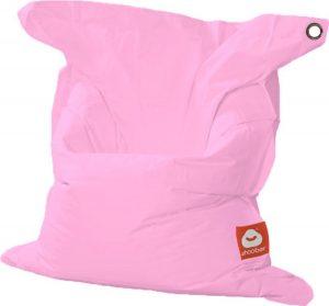 Whoober Rechthoek zitzak St. Tropez M outdoor roze - Wasbaar - Geschikt voor buiten